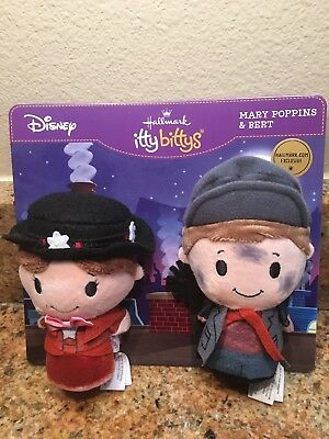 HALLMARK Itty Bitty Bittys MARY POPPINS AND BERT EXCLUSIVE  ON-LINE ONLY NEW