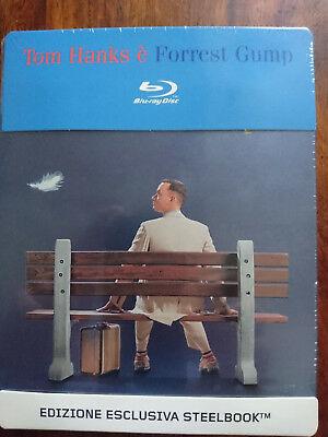 Forrest Gump steelbook blu-ray NEUF SOUS BLISTER Tom Hanks VF incluse