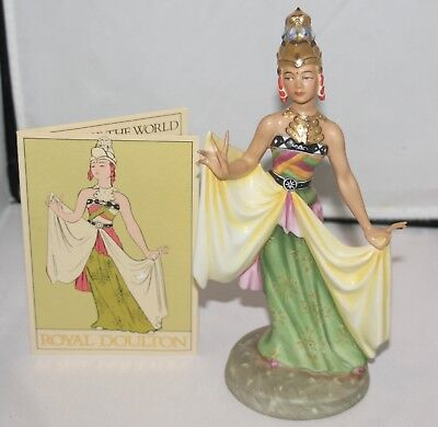 "Royal Doulton Figurine - DANCERS OF THE WORLD ""BALINESE DANCER"" HN 2808"