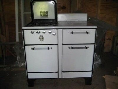Antique Iroquois white 1930's gas stove- local pick up only