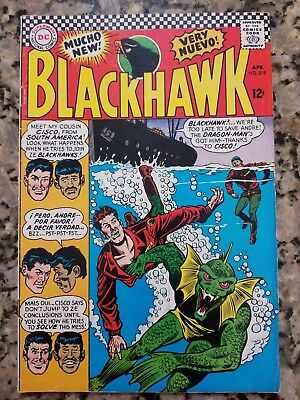 DC Comics Blackhawk 219
