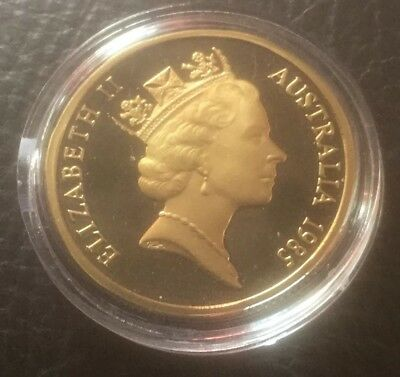 PROOF COIN, 1985 Mob Of Roos $1 Ex Proof Set Rare Invest Free Post