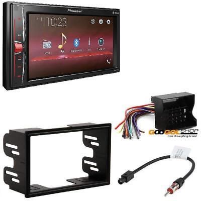 Pioneer MVH-210EX Bleutooth Camera Ready Stereo Dash KIT FOR 02-07 VW JETTA GOLF