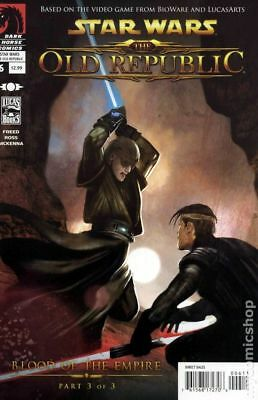 Star Wars The Old Republic #6 (2010) Dark Horse Comics