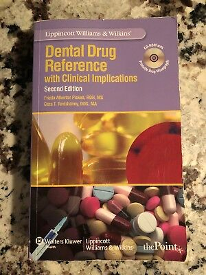 Dental Drug Reference with Clinical Implications Second Edition