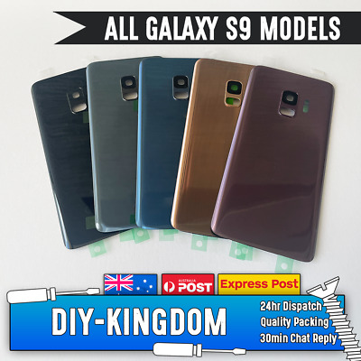 Original Samsung Galaxy S7 Rear Glass Housing Back Battery Cover with Adhesive