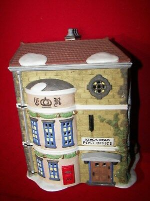 Dept 56 Dickens Village Kings Road Post Office With Light  1992 Vintage Retired