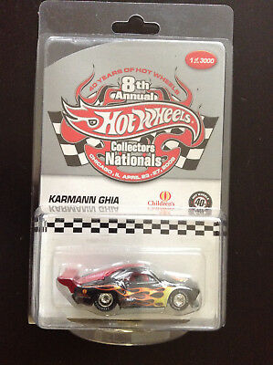 4fe44075b1f Hot Wheels 2006 8th Annual Collectors Nationals Karmann Ghia Only 3000 Made