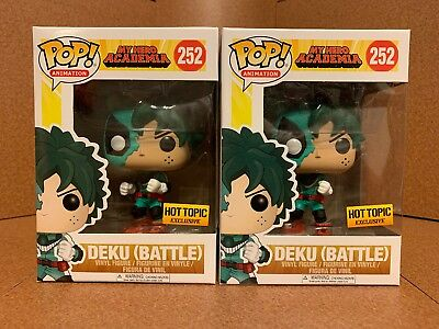 "Funko Pop #252 Deku Battle ""My Hero Academia"" (Hot Topic Exclusive)"