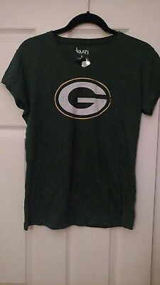 c0402bc5 Green Bay Packers Touch by Alyssa Milano Women's Triple Play V-Neck T-Shirt