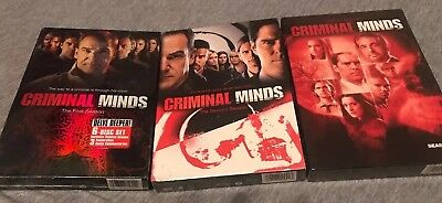 Criminal Minds - The Complete Seasons One, Two, Three, 1-3, New & Sealed