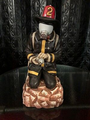 Old Commonwealth Bourbon Whiskey Modern Firefighter #2 Nozzleman  Decanter
