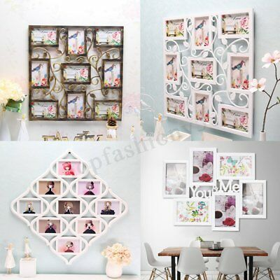 8 Types 6'' Collage Multi Photo Frames Picture Display Wall Hanging Decor