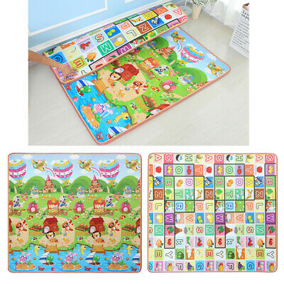 15mm 2mx1.8m Thick Baby Play Mat Floor Rug Cushion Crawling Picnic Blanket AU 1