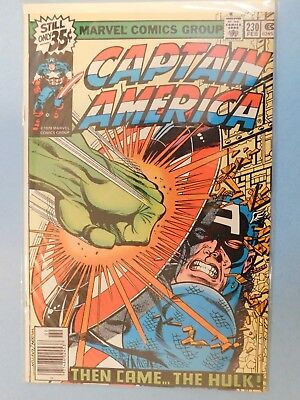 Marvel #230 Captain America Then Came The Hulk! 9.2 NM