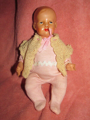 antique-/-vintage celluloid  baby doll    U.S.A.