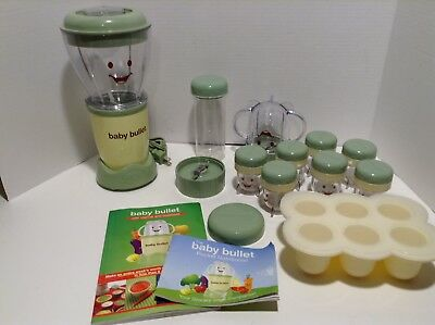 Magic Baby Bullet Blender System Homemade Baby Food Processer With Accessories