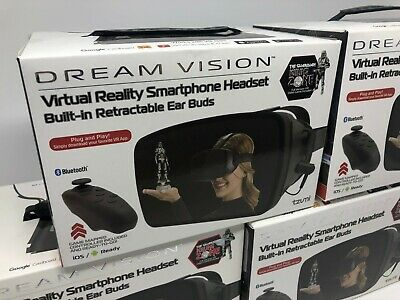 GS289 Tzumi Dream Vision Pro VR Virtual Reality Bluetooth Headset for Smartphone