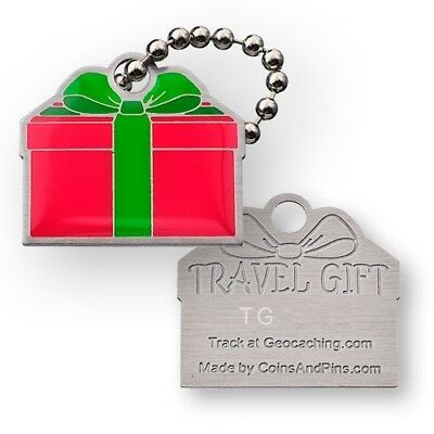 Travel Gift Tag - Trackable for Geocaching