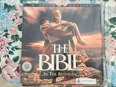 THE BIBLE in the beginning two discs CLV