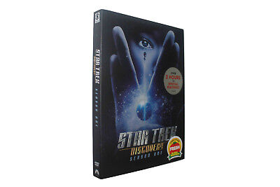 Star Trek Discovery Season One 1  (DVD, 4-Disc Set) NEW Free shipping