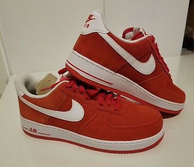 17c1e9026d45 Nike Air Force 1 AF1  07 University Red  White 315122 612 Men various Size