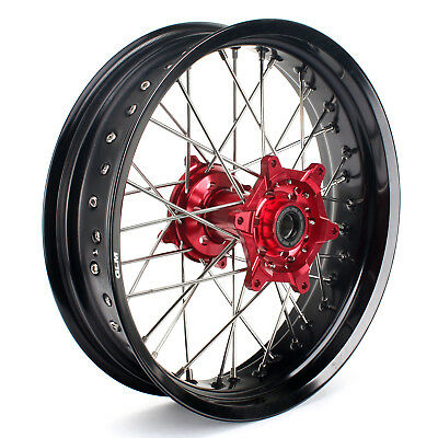 "17"" x 4,25"" Honda Supermoto CRF 250 R 14-17 CRF 450 R 13-16 Rear Wheel Rim Hub"