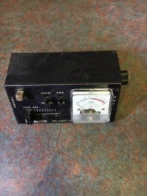 Lafayette SWR meter modified for VHF/UHF use. (added new RF bridge)