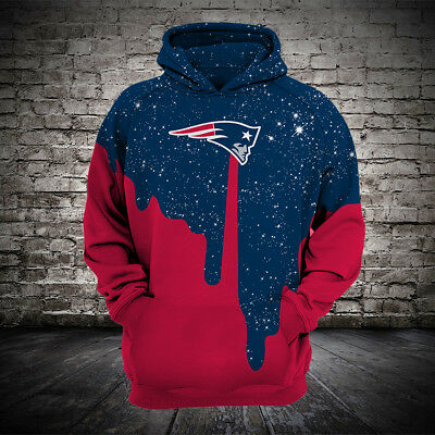Hot NFL FOOTBALL HOODIE Hooded New England Patriots Sweatshirt Jacket  supplier