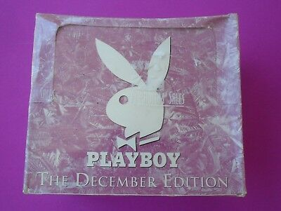 Playboy December Edition Sealed Box Of Trading Cards 36 New Packets