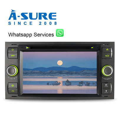 GPS Autoradio DVD 2018Navi SWC MP3+Bluetooth+USB Ford Focus Transit S/C-Max DAB+