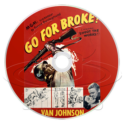 Go for Broke! (1951) Drama, History, War Movie / Film on DVD