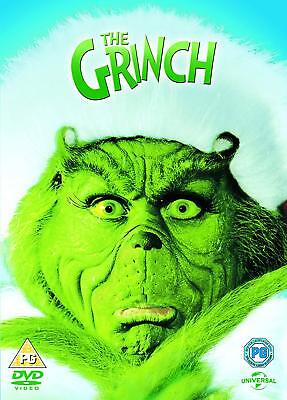 The Grinch Jim Carrey New & Sealed DVD