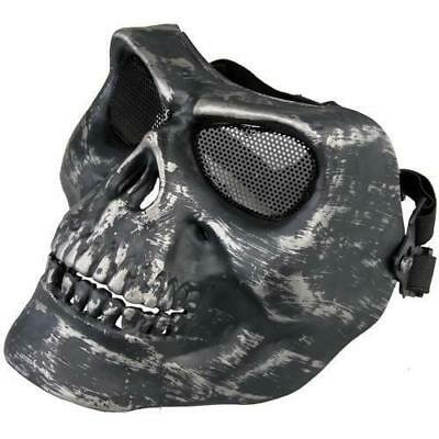 Tactical Paintball CS War Game Skull Skeleton Mask Full Face Airsoft Protective