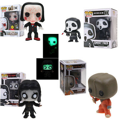 Funko Pop The Crow Eric Draven Saw Billy Vaulted Retired Luminous Figure Toy