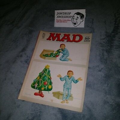Vintage Mad Magazine No 172 January 1975 Inflatable Blow Up Christmas Tree Cover