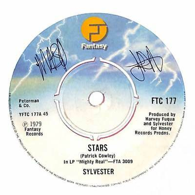 "Sylvester - Stars - Coloured Vinyl - 7"" Record Single"