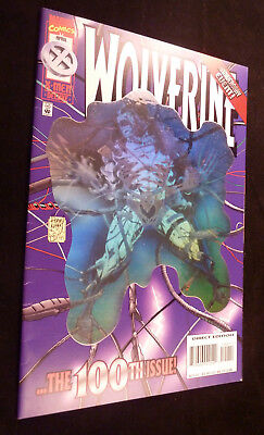WOLVERINE #100 - ...The 100th Issue - Hologram Cover- Anniversary Event 1996