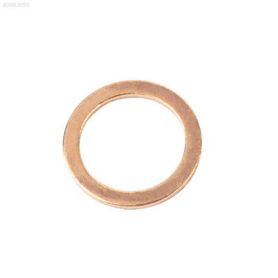 2751 20PCS/Pack Copper Washer Solid Gasket Sump Plug Oil Seal Kit 12X16X1MM