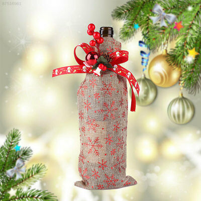 8174 Christmas Wine Champagne Bottle Cover Bags Clothes Decorations Ornament