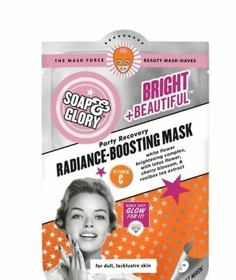 Soap and Glory Party Recovery Radiance-Boosting Face Mask 29 g