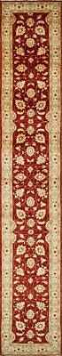 Traditional Hand Knotted Farhan Runner Area Rug Red/Beige Persian Rug (2.5 x 16)