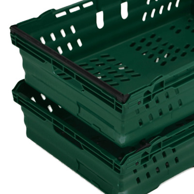 Stack And Nest Euro Bale Arm Crates Baskets Containers Various Supermarket