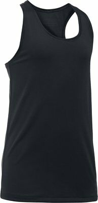 Under Armour Womens/Girls Sports Tank Top Black Size Youth Large New with Tags