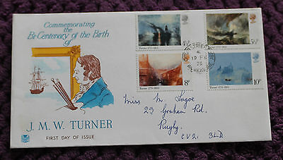 GB FDC 1975 JMW Turner