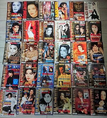 Lot rare michael jackson black in white magazine fr bad Black or white Thriller