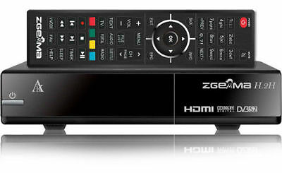 Zgemma H2h Combo HD Receiver Cable and Satellite - Used