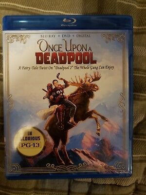 Once Upon a Deadpool BLUE RAY+ DVD+DIGITAL HD