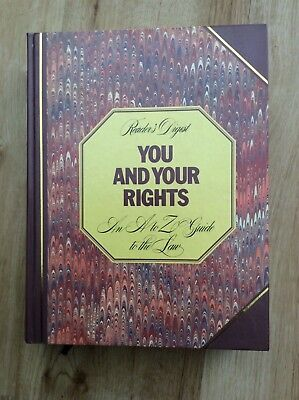 Readers Digest You and your Rights A-Z Guide to the Law Hardback