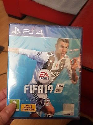 fifa 19 ps4 brand new sealed includes codes